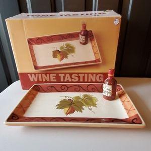 Wine Appetizer Tray